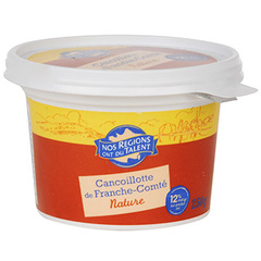 Fromage Cancoillotte nat. 12%mg Nos Regions ont du Talent 250g