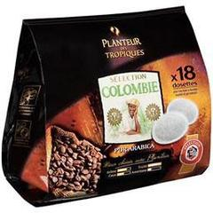 Cafe origine Colombie, le pack de 18 - 125 g