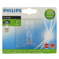 Ampoule capsule halogene 28W G9 BL1 PHILIPS