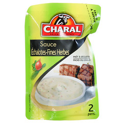 Sauce aux echalotes et fines herbes CHARAL, 120g