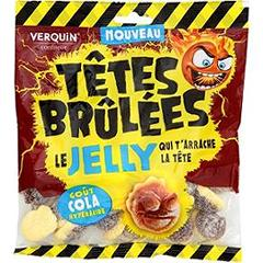Verquin têtes brulées jelly cola 220g