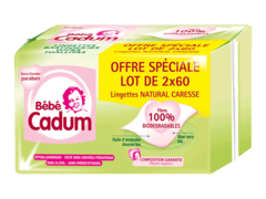 bebe cadum couches lot de 2x60