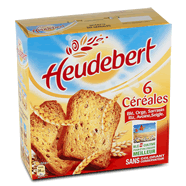 Heudebert 6 Cereales Lot X3 900g