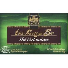 The vert nature bio Prestige PAGES, 20 sachets, 36g