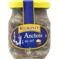 Anchois au sel, semi-conserve,130ml