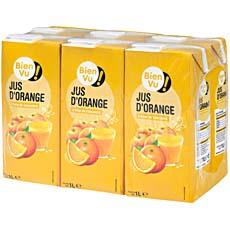 Jus d'orange BIEN VU, 6x1l