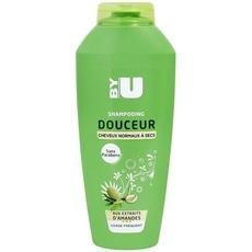 Shampooing aux amandes By U chev.normaux/secs familial 400ml