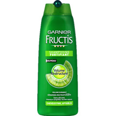 Shampooing Fructis Volume cheveux fins, flacon de 250ml