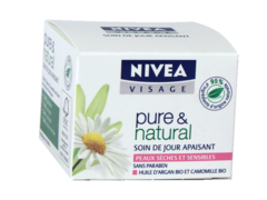 Pure and Natural Soin du jour apaisant peaux sensibles