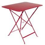 Fermob Table Bistro 77 x 57 cm piment