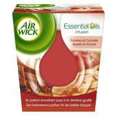 Air Wick bougie essential oils pommes
