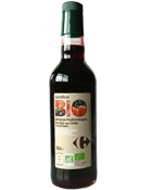 Sirop de fruits rouges bio