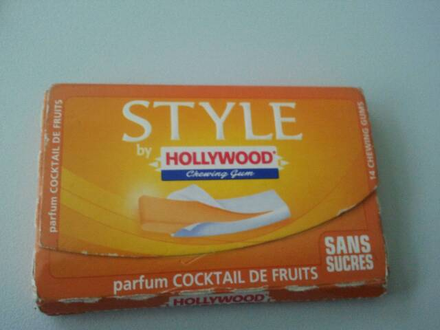 Chewing-gum hollywood style fraise 2x54g - Tous les produits chewing ...