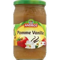 Compote Andros pomme vanille 750g
