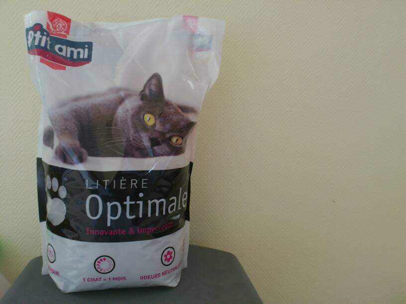 Litiere chats P'tit Ami Optimale 5l