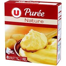 Puree nature U, paquet de 1kg