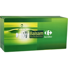 Mouchoirs blancs, balsam Promo