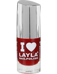 Layla Cosmetics Milano I Love Layla Vernis à Ongles Reddy Red 5 ml