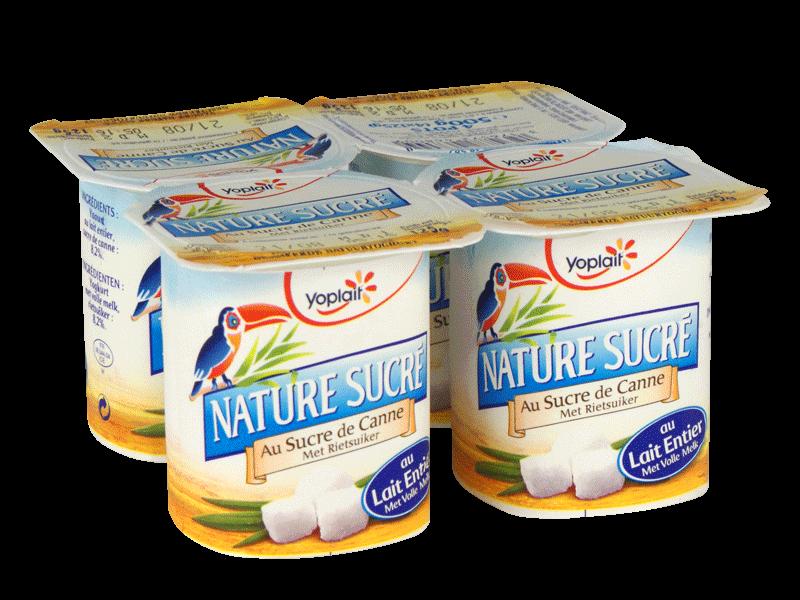 yoplait yaourt nature sucr 233 4x125g tous les produits yaourts natures prixing