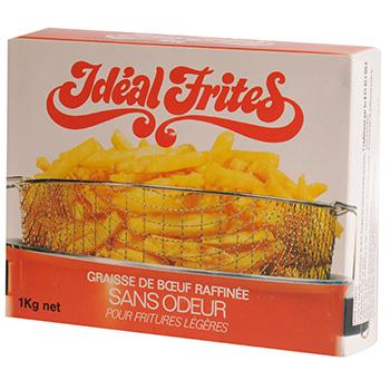 Graisse de boeuf ideal frites 1kg tous les produits - Quelle friteuse pour graisse de boeuf ...
