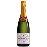 Champagne Rothschild cuvee millesime brut 12,5° -75cl