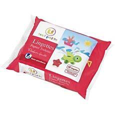lingettes papier toilette u tout petits 60 unites tous les produits lingettes cotons b b. Black Bedroom Furniture Sets. Home Design Ideas