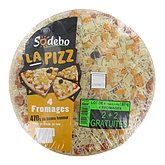 Pizza 4 fromages Sodebo 2x470g