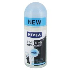 Nivea deodorant invisible for black and white 50ml