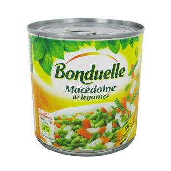 macedoine de legumes tous les produits conserves de l gumes l gumes secs prixing. Black Bedroom Furniture Sets. Home Design Ideas