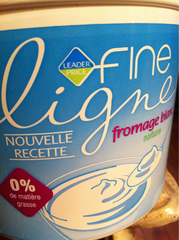Fromage blanc nature, Fine Ligne 1kg