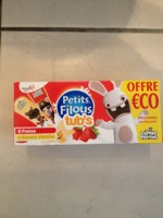 PETITS FILOUS TUBS AROMATISE FRAISE 40Gx12