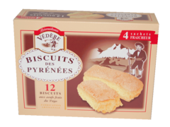 Biscuits des Pyrenees Masion Vital Aine x12 180g