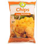 Pouce chips aromatis?es barbecue 200g