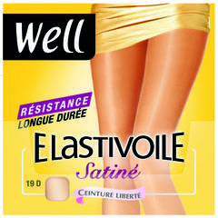 Collants Well Elastivoile Satine ibiza T3