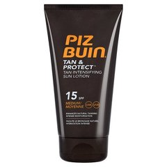 Piz Buin Lotion solaire protectrice et intensifiante LSF 15 150 ml