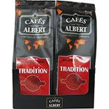 Café tradition moulu LES CAFES ALBERT 2x250g