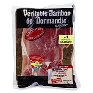 Veritable jambon fume de normandie - 4 tranches