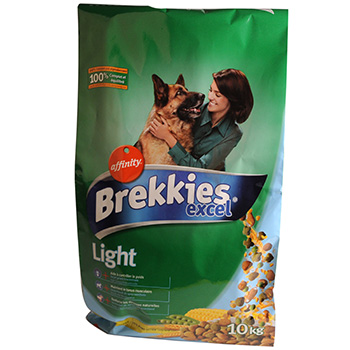 Croquettes chiens Brekkies Excel multicroc light 10kg