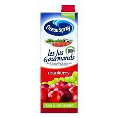 OCEAN SPRAY Jus de cranberry Les Jus Gourmands 1l