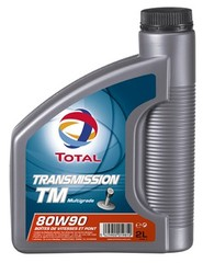 Huile 80W90 Transmission TM TOTAL, 2l