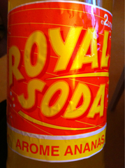 Royal Soda Ananas 2 L - Lot de 3
