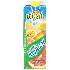 Nectar tropical ROYAL, brique de 1l