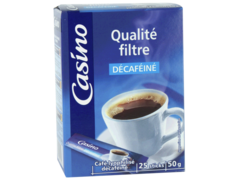 Cafe qualite filtre Decafeine