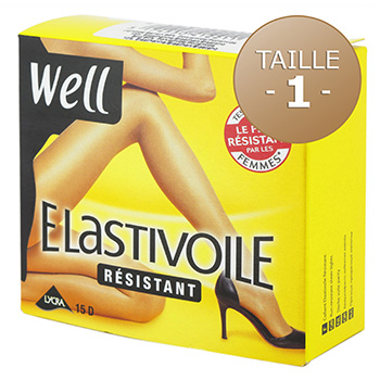 Collants Well Elastivoile Resistant ibiza T1