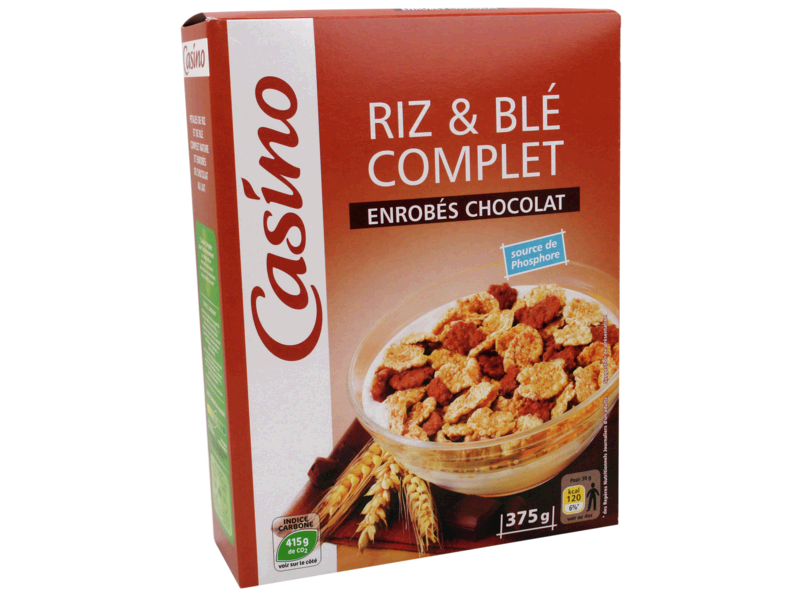 Riz & Ble complet enrobes Chocolat
