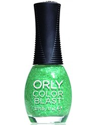 Orly couleur Blast Vert flakie Top Mat