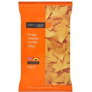 Chefs cellier Tangy fromage Tortilla Chips 454gram