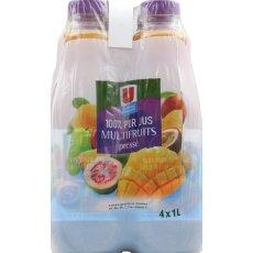 Pur jus multifruits U, 4x1l