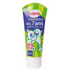 Dentifrice junior des 7 ans Buble gome