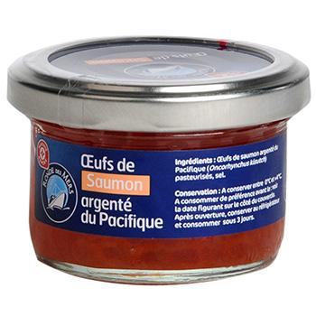 Oeufs saumon keta 80g tous les produits tartinables - Prix du saumon ...